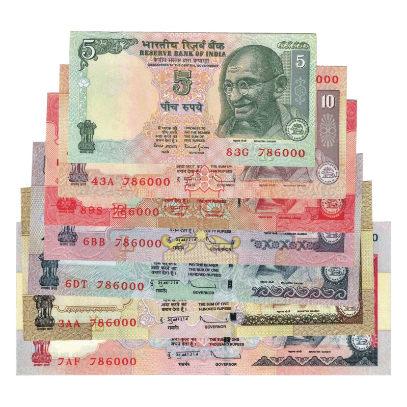 Rupee Note Rupees Subba Rao All Notes